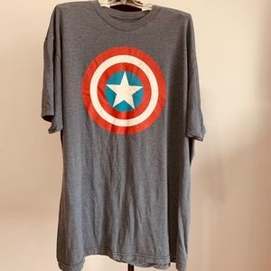 Mens captain america t shirt size XL